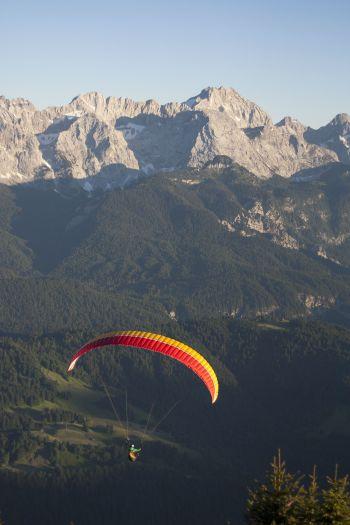 Paragliding vom Wank, Garmisch