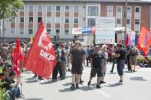 Viele linken Parteien waren da