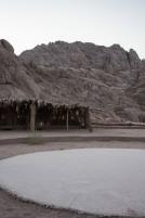 Beduinenzelt in der Wüste