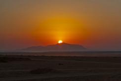 Sonnenaufgang Wüste 2