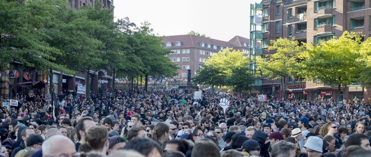 Freitag, Fischermarkt, Hamburg