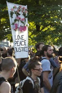 Love, Peace, Justice