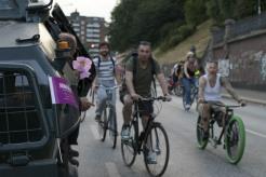 Die Fahrrad-Demo 1