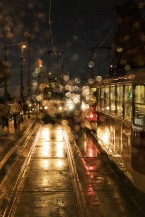 Prague - Rainy Tram